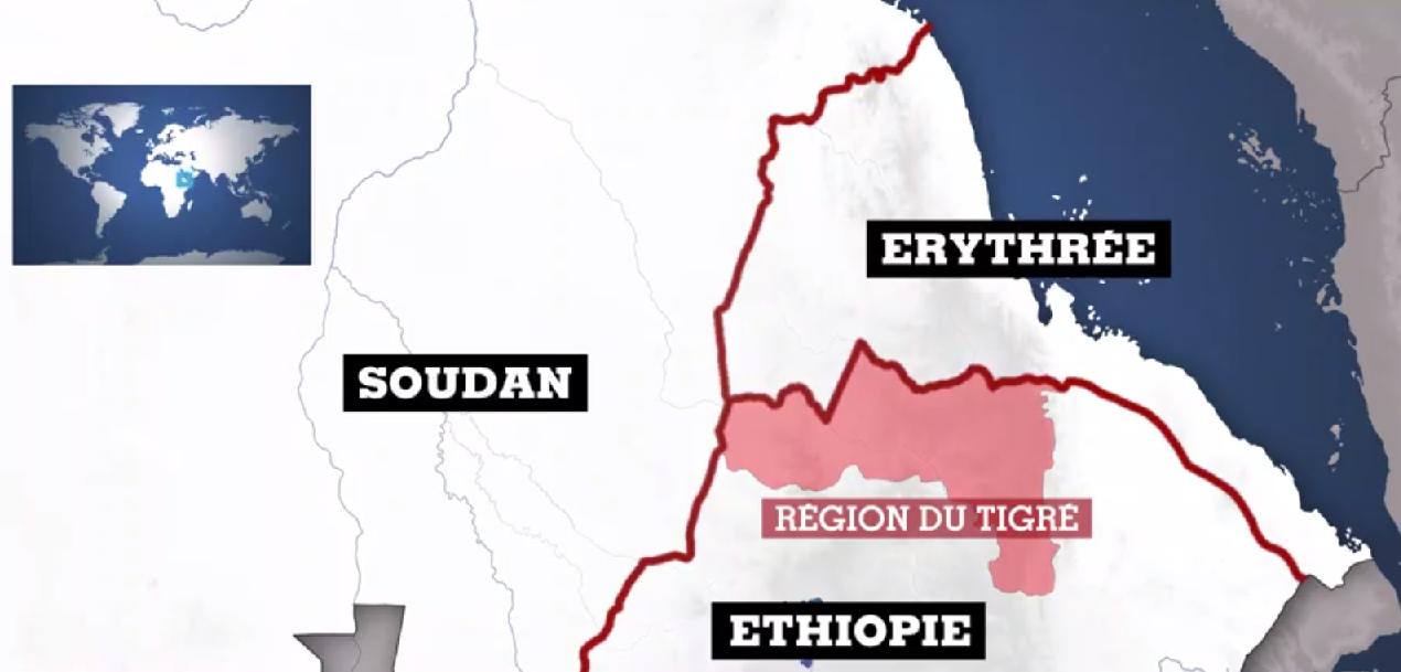© France 24  Éthiopie : les forces du Tigré frappent la capitale de l'Érythrée, nouvelle escalade dangereuse.