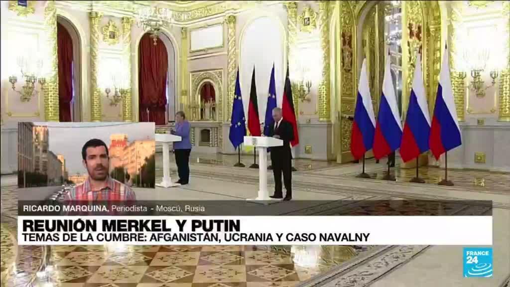 2021-08-20 19:04 Informe desde Moscú: Navalny, Ucrania y Nord Stream 2, los temas sobre la mesa de Merkel y Putin