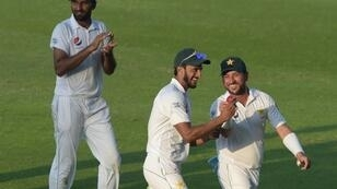 Medium pacer Hasan Ali and leg-spinner Yasir Shah took five NZ wickets apiece