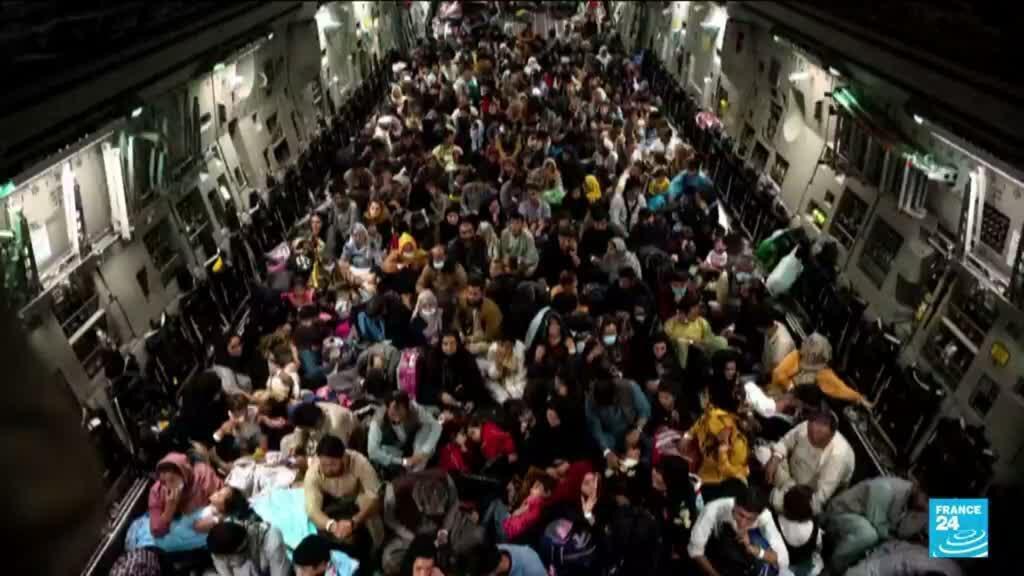 2021-08-31 10:05 Départ des Américains d'Afghanistan : 123 000 personnes évacuées selon le Pentagone