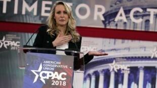 ماريون ماريشال لوبان في مؤتمر المحافظين الأمريكيين