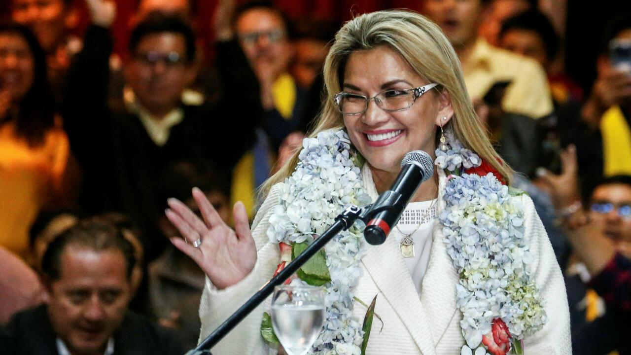 BOLIVIA-POLITICS-ANEZ-GOVERNMENT