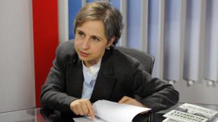 Carmen Aristegui est l'une des journalistes qui aurait été espionnée par le gouvernement mexicain.
