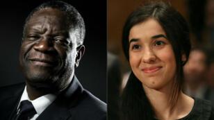 Denis Mukwege et Nadia Murad luttent contre les violences sexuelles utilisées comme arme de guerre.