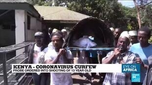 2020-03-31 21:47 Coronavirus in Kenya: Probe ordered into shooting of 13-year-old
