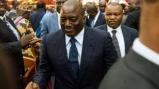 رئيس جمهورية الكونغو الديموقراطية جوزيف كابيلا.