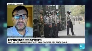 Myanmar protesters gather again as UN chief condemns deadly crackdown