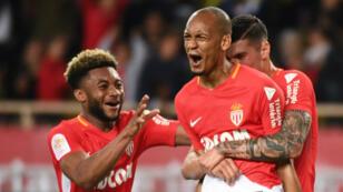 Fabinho a offert le but de la victoire à Monaco, le samedi 12 mai 2018.