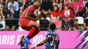 Former All Black Julian Savea has struggled to add punch to the Toulon attack