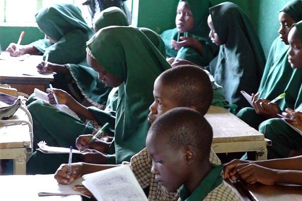 Dans l'école de Zannah Mustapha, à Maiduguri, enfants de victimes et enfants de jihadistes étudient sur les mêmes bancs.