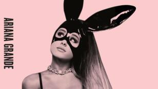 La chanteuse Ariana Grande sur l'affiche de sa tournée.