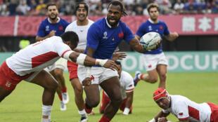 Alivereti Raka a été désigné homme du match dimanche face aux Tonga.