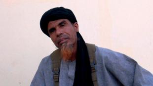 """Oumar Ould Hamaha, porte-parole de l'ancien mouvement  Mujao, interrogé dans le film """"Salafistes""""."""