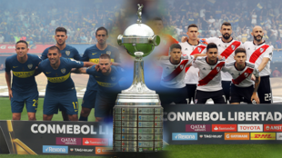 Boca Juniors y River Plate, los dos clubes más populares del fútbol argentino, empataron 2-2 en el partido de ida de la final de la Copa Libertadores y van en busca de su séptimo y cuarto título, respectivamente.