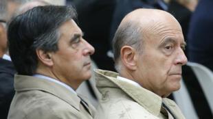 François Fillon et Alain Juppé se sont opposés lors de la primaire de la droite.