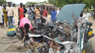 Dans la région de Maiduguri (nord du Nigeria), les attentats-suicides de Boko Haram sont fréquents et souvent perpétrés par des jeunes filles.