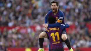Lionel Messi a inscrit le 50e triplé de sa carrière professionnel.
