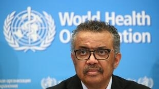 """The WHO's chief Tedros Adhanom Ghebreyesus has urged countries to """"test, test, test"""" for coronavirus cases."""