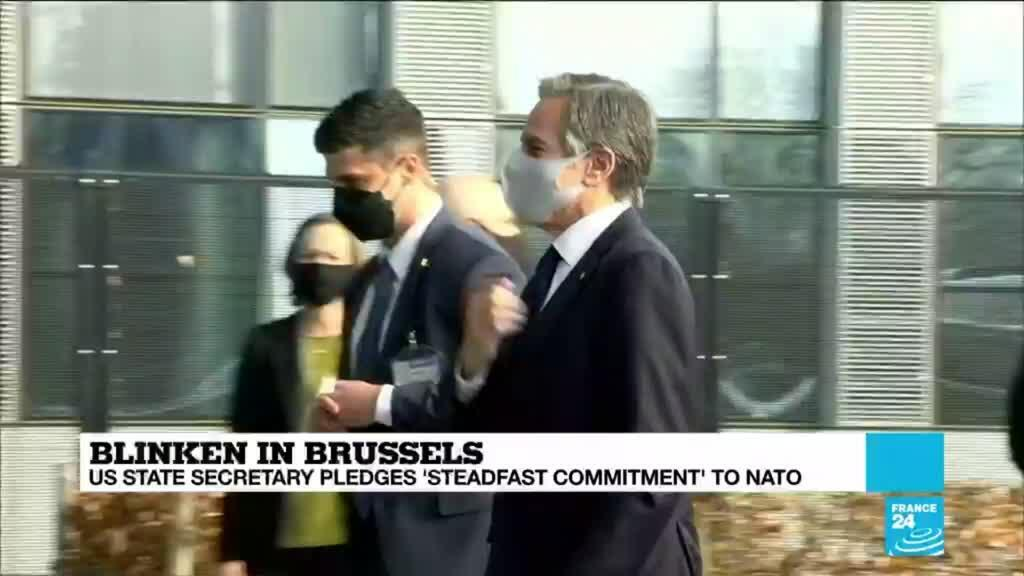 2021-03-23 16:09 Washington's top diplomat in Brussels on charm offensive