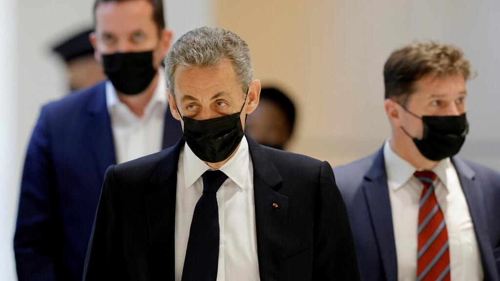 Ex-French president Sarkozy denies wrongdoing in campaign funding trial