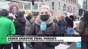 2021-04-21 08:02 Chauvin trial verdict: Relief across US as ex-officer guilty in death of Floyd