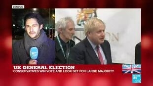 """2019-12-13 07:34 UK General Election: """"Sweet victory for Boris Johnson, and possibly beyond his expectations"""""""