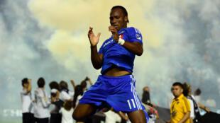 L'Ivoirien Didier Drogba réalise une entame parfaite avec son nouveau club.