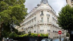 Jeffrey Epstein's appartment in the swanky 16th arrondissement of Paris.