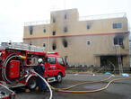 Many feared dead in suspected arson attack on Japanese animation studio