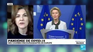 2020-04-06 13:07 Pandémie de Covid-19 : Des chiffres encourageants en Europe