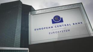 Le siège de la BCE, à Francfort, en Allemagne.