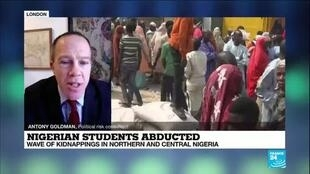 2021-02-17 15:01 Nigerian students abducted: Wave of kidnappings in northern and central Nigeria