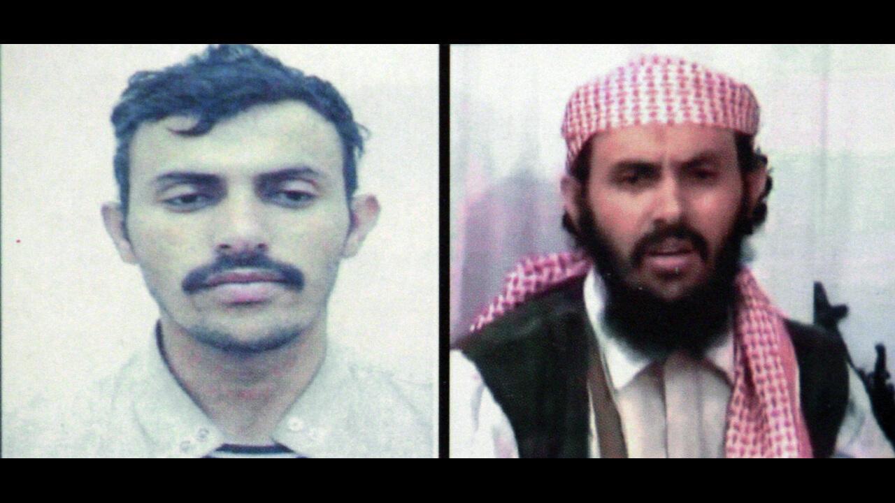 Qassim al-Raymi, the former leader of al Qaeda in the Arabian Peninsula.