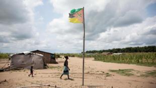 مخيم في الموزمبيق