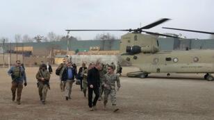 L'armée américaine soutient les forces gouvernementales afghanes dans son conflit contre les groupes insurgés.