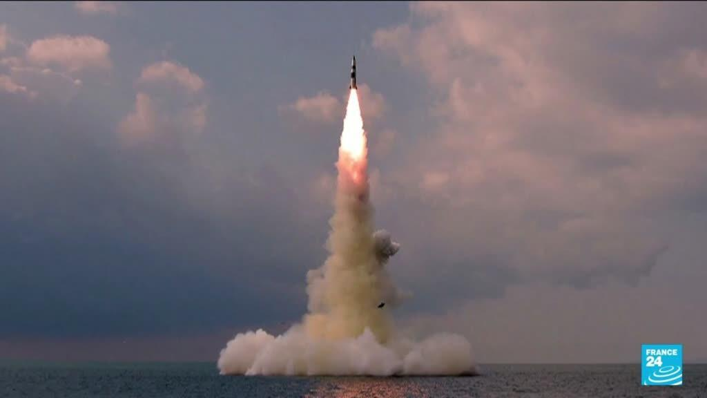 2021-10-20 15:11 North Korea tested new 'submarine-launched ballistic missile'
