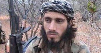 """Omar Hammami, un militant shebab né aux États-Unis et surnommé """"L'Américain""""."""