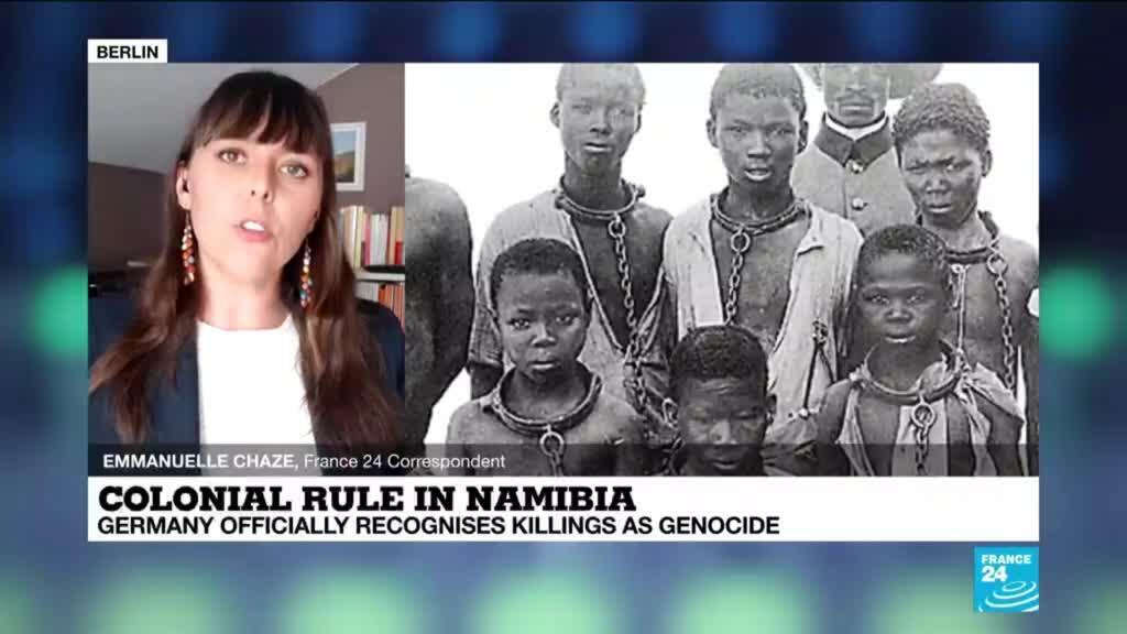 2021-05-28 15:06 Germany recognizes colonial killings in Namibia as genocide
