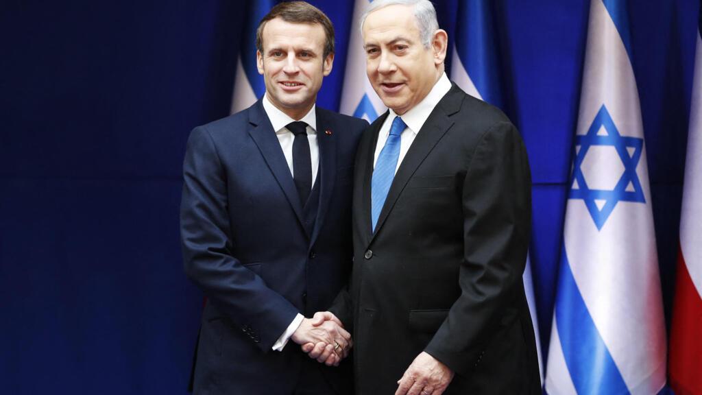 Macron speaks with Netanyahu, urges return to peace in Gaza