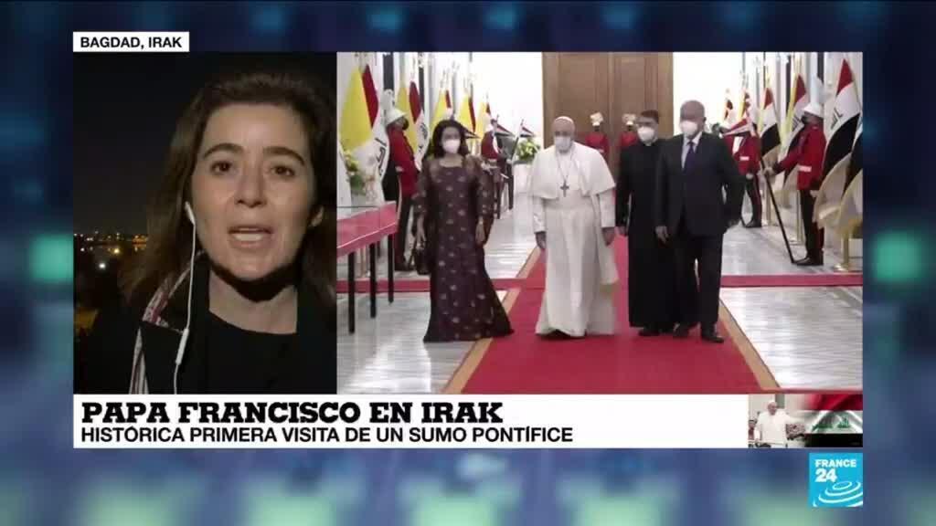 2021-03-06 00:02 Informe desde Bagdad: primera jornada del papa Francisco en Irak