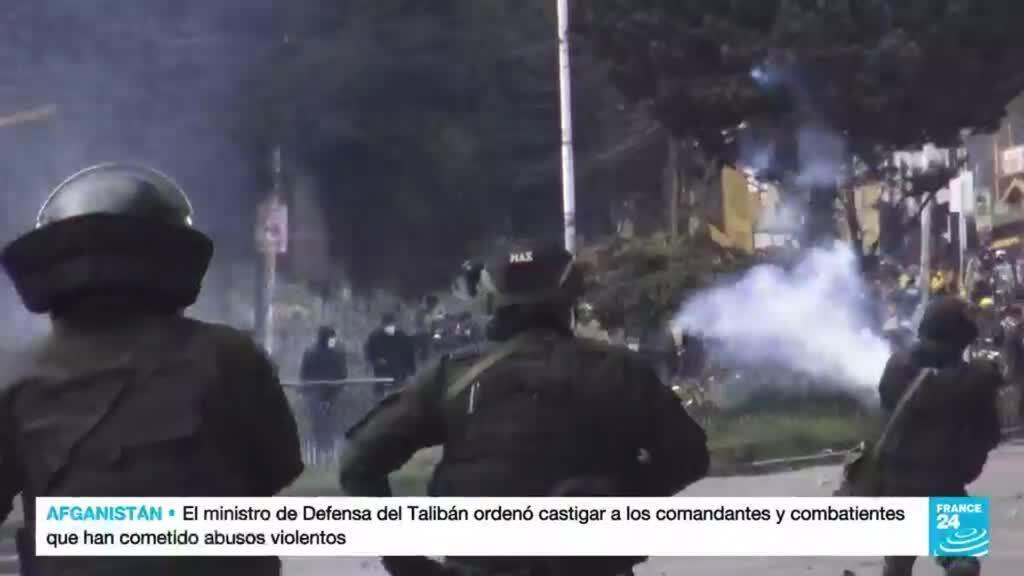 2021-09-24 14:10 Al menos 33 personas fueron detenidas durante protestas de cocaleros en Bolivia