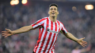 Forward Aritz Aduriz was a hero at  Athletic Club de Bilbao's San Mames stadium