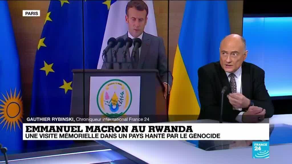 """2021-05-27 14:35 Rwanda : pour Paul Kagame, Emmanuel Macron """"a fait plus que des excuses, il a rétabli la vérité"""""""