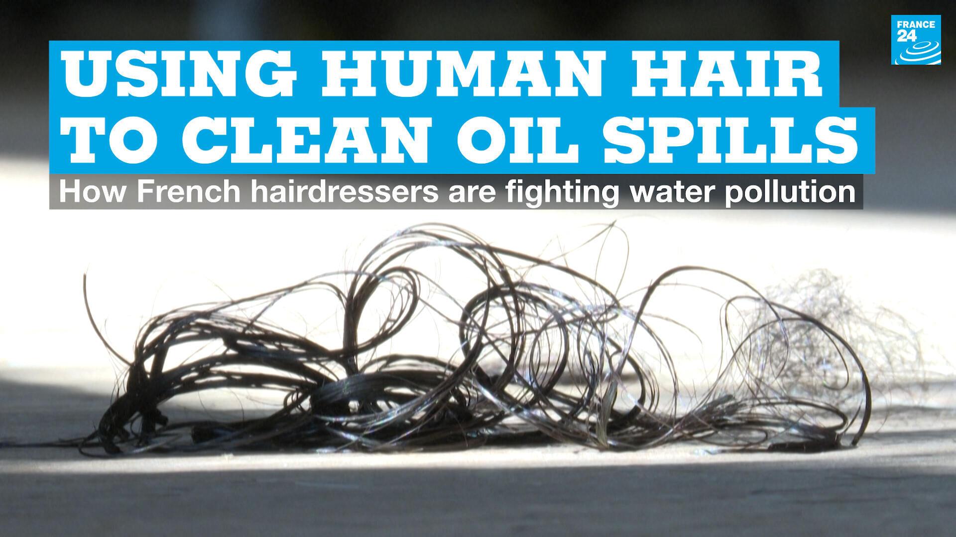 EN vignette hair oil spills