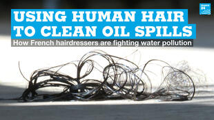 EN vignette hair oil spills