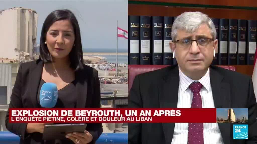 """2021-08-04 13:13 Explosion de Beyrouth, un an après : """"Il faut faire en sorte que la jeunesse reste au Liban"""""""