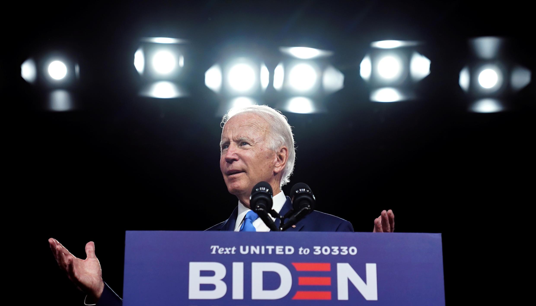Joe Biden à Wilmington le 2 septembre 2020.