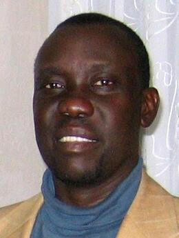 Emmanuel LoWilla, conseiller du président du gouvernement semi-autonome du Sud-Soudan Salva Kiir et ambassadeur soudanais à l'Unesco.