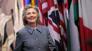 Candidate malheureuse lors des primaires démocrates en 2008, Hillary Clinton a officiellement annoncé sa candidature, dimanche 12 avril, pour 2016.