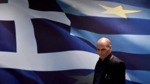 """Le nouveau ministre grec des Finances, Yanis Varoufakis, a réaffirmé la volonté du pays à """"tourner la page de la politique d'austérité""""."""